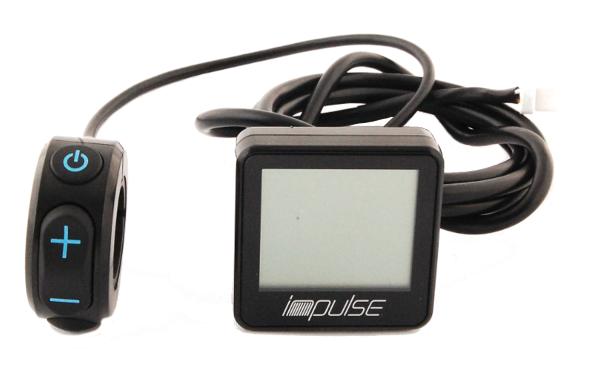 IMPULSE 1 & 2 DISP. LCD SMALL w. CONTROL PAN