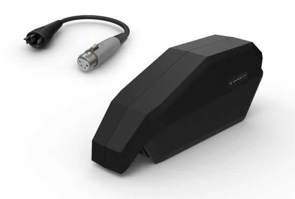 E-Bike Ersatzakku Power Pack 36V für Bosch ACTIVE (Plus) / PERFORMANCE (CX) 36V Unterrohr Akku inklusive E-Bike Vision Lade-Adapter