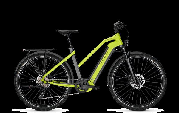 Kalkhoff ENDEAVOUR 7.B MOVE Trapez diamondblack/integralegreen matt 2020 E-Bike Bosch 625 Wh