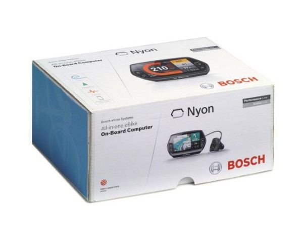 Bosch eBike Nyon Umrüstkit LCD Display Computer 8GB für Active und Performance