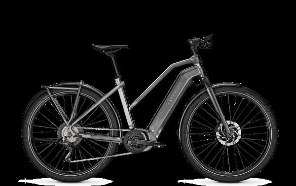 Kalkhoff ENDEAVOUR 7.B PURE Trapez diamondblack/techgreen glossy matt 2021 E-Bike Bosch 625 Wh