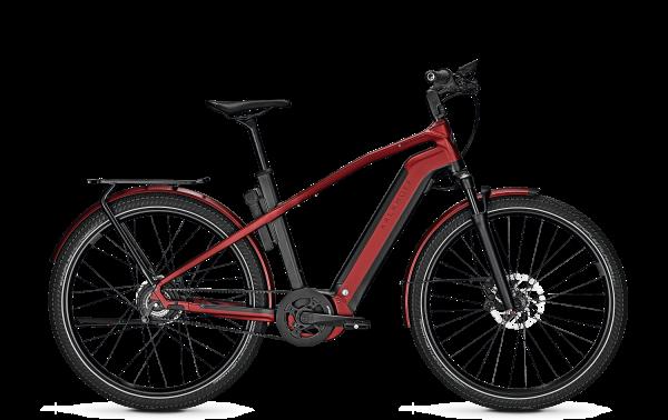 Kalkhoff E-Bike ENDEAVOUR 7.B BELT Diamant rot 2021 City Trekking