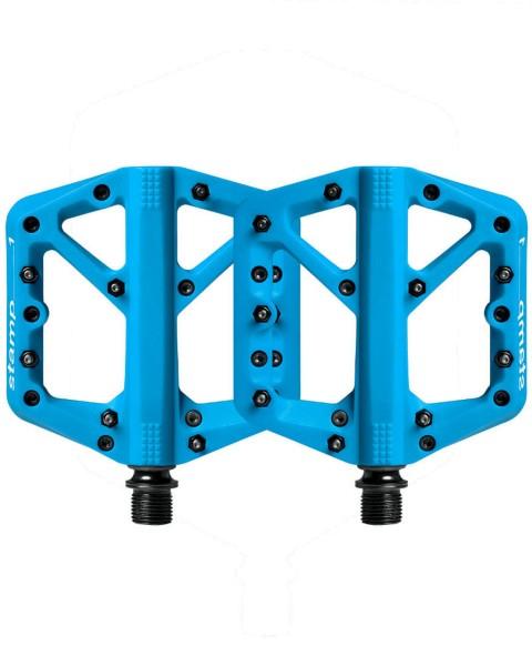 Crankbrothers Stamp 1 Plattform Pedal blau blue
