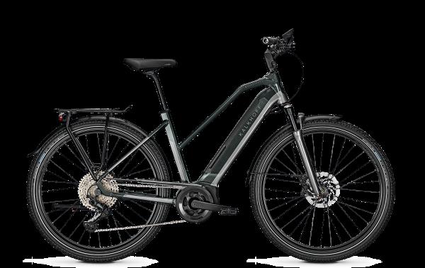 Kalkhoff ENDEAVOUR 5.B EXCITE Trapez deepgreen/jetgrey glossy 2021 E-Bike Bosch 625 Wh