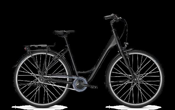 """Kalkhoff Citybike AGATTU LITE 7 R Wave schwarz mit Rücktrittbremse 28"""" Zoll 2021"""